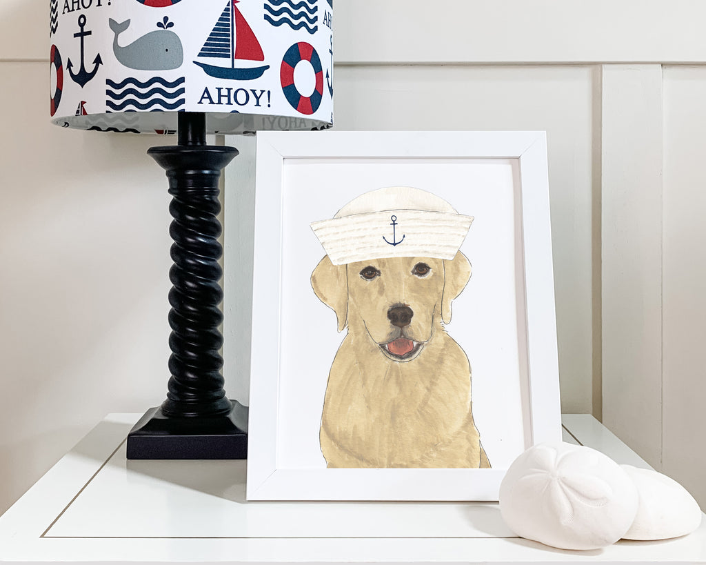Nautical Pups Printed Copies