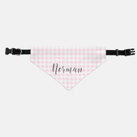 Small / Medium Personalized Bandana