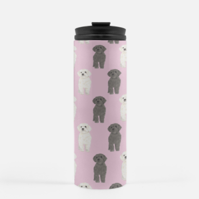 Custom Pet Painting Travel Mug