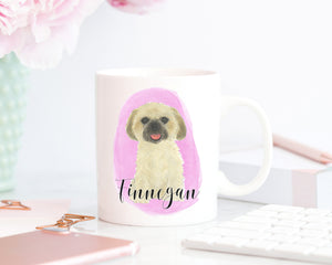 Personalized Shih Tzu (Golden) Ceramic Mug