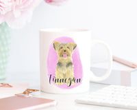 Personalized Yorkshire Terrier Ceramic Mug