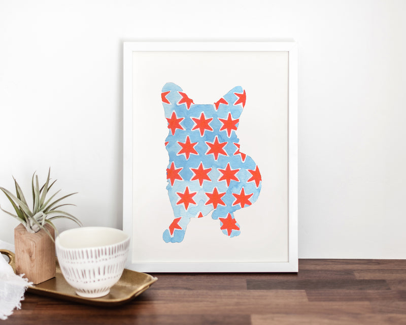 Chicago Dog Fine Art Print (#14)