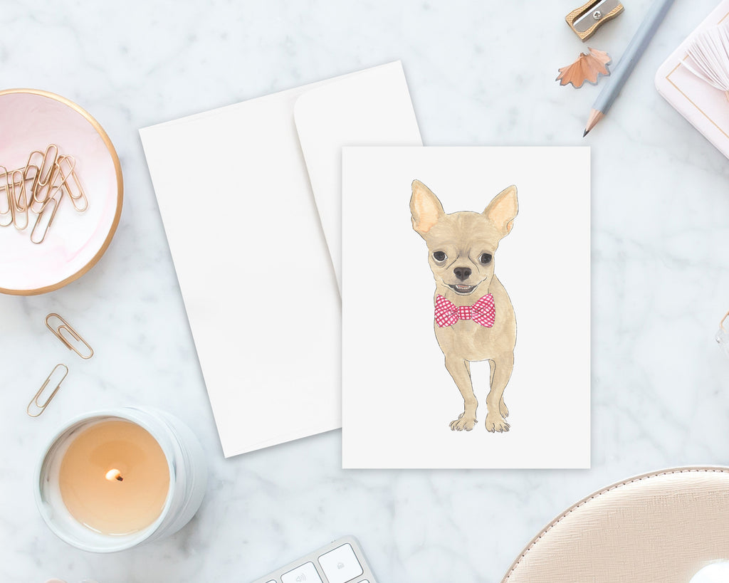 Chihuahua Big Baby Folded Cards (set of 10)