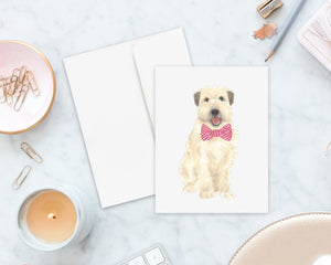 Wheaten Terrier Big Baby Folded Cards (set of 10)
