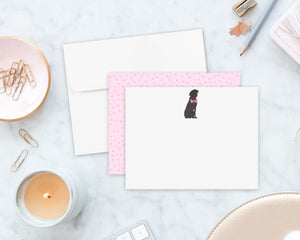 Black Lab Little Baby Flat Cards (set of 10)