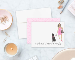 Olivia & The Black Lab Flat Cards (set of 10)
