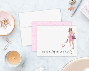 Olivia & The White Floof Flat Cards (set of 10)