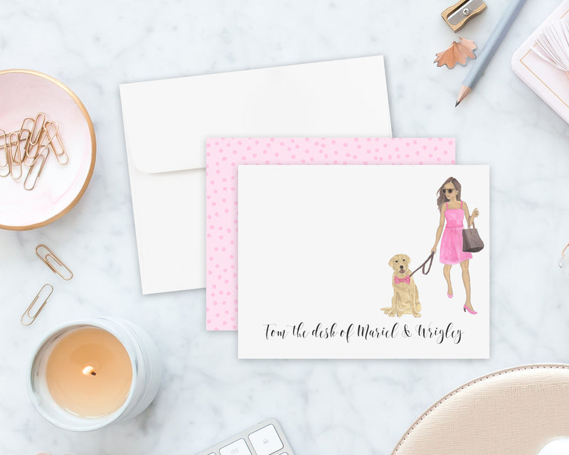 Olivia & The Yellow Lab Flat Cards (set of 10)