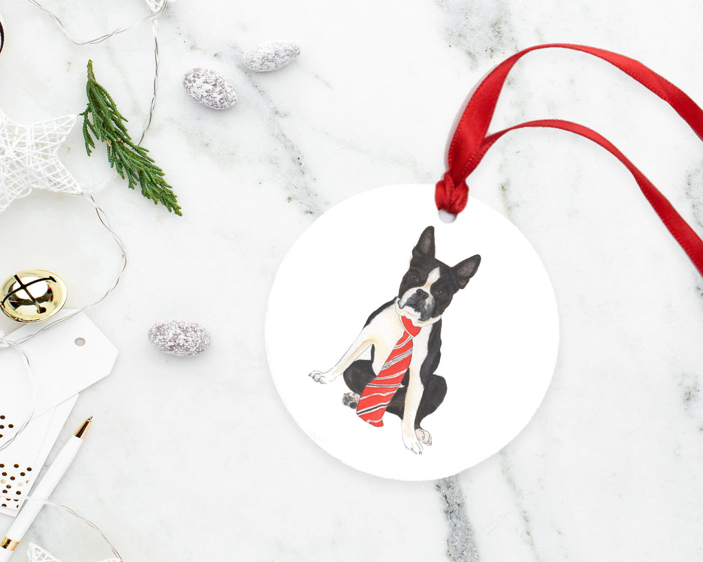 Custom Pet Painting Christmas Ornament