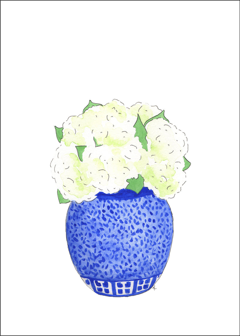 Florals in Chinoiserie Fine Art Prints