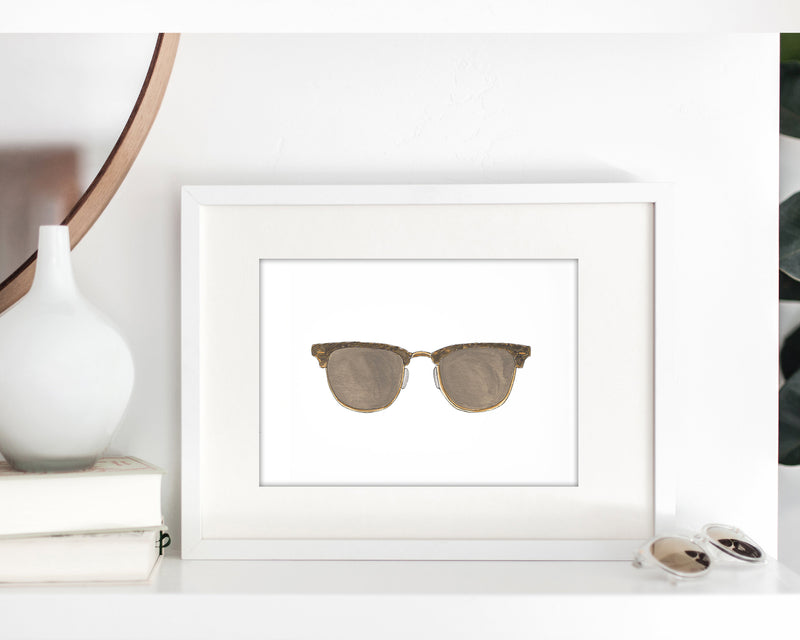 Sunglasses Collection Fine Art Prints