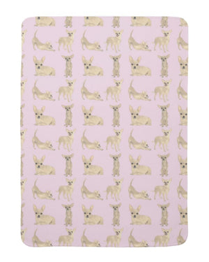 Fleece Chihuahua Baby Blanket
