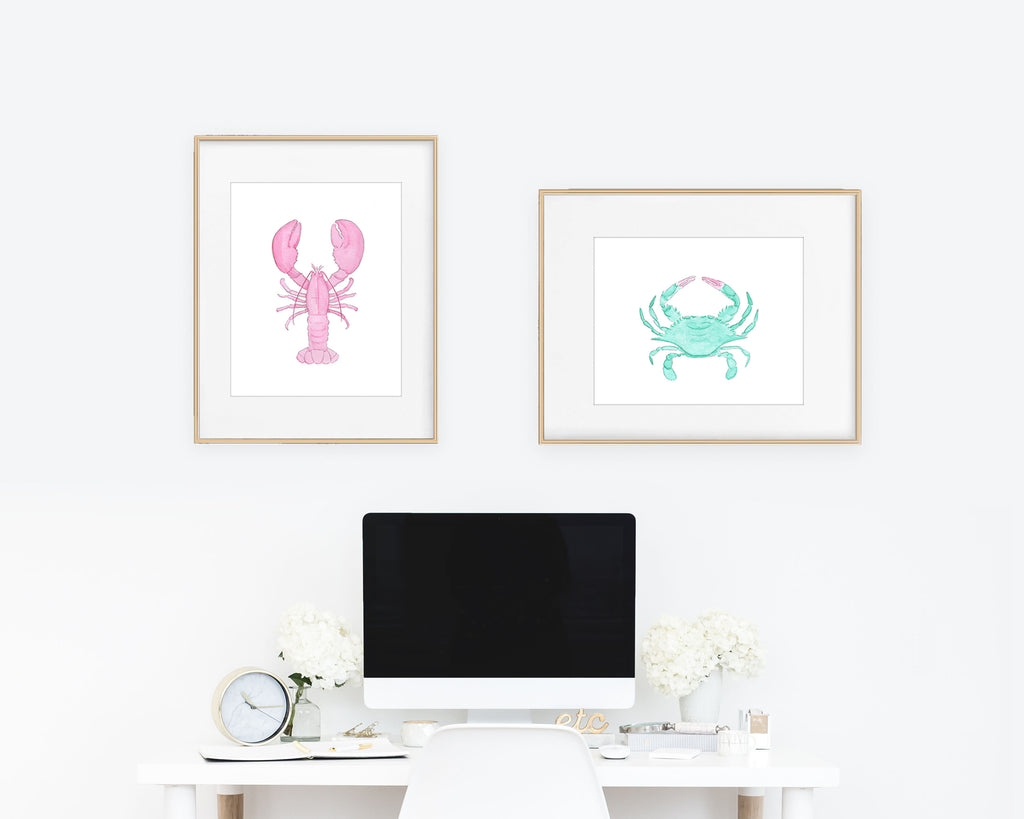 Crustaceans Collection Fine Art Prints