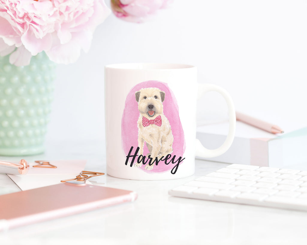 Personalized Wheaten Terrier Ceramic Mug
