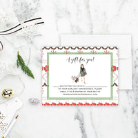 Personalized Last Minute Gift Note Card