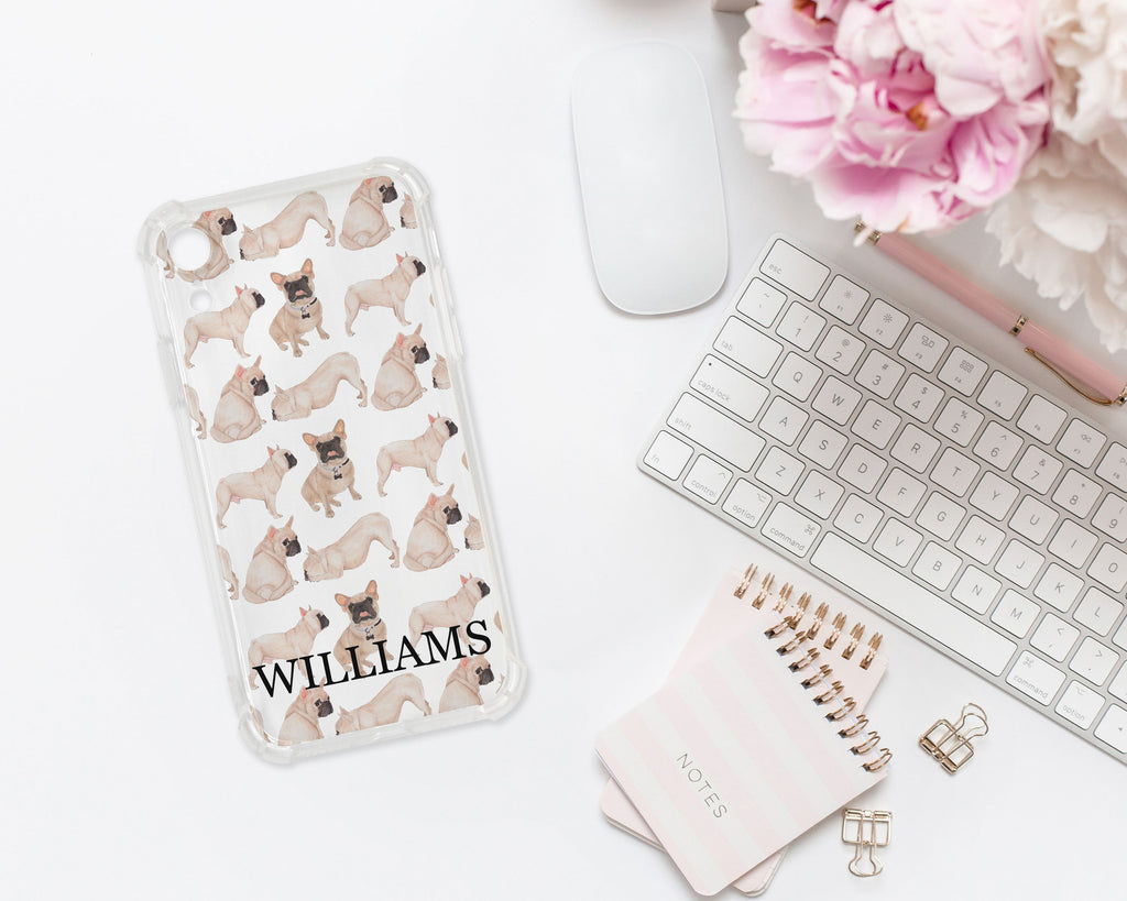 Personalized Masked French Bulldog Cell Phone Case