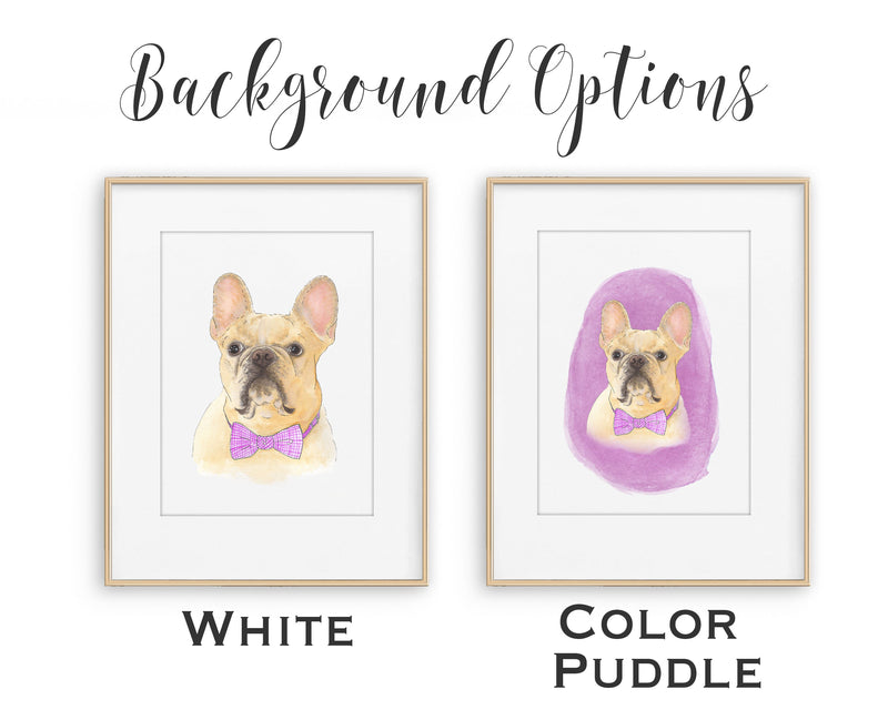 Custom Pet Painting (Bust Style)