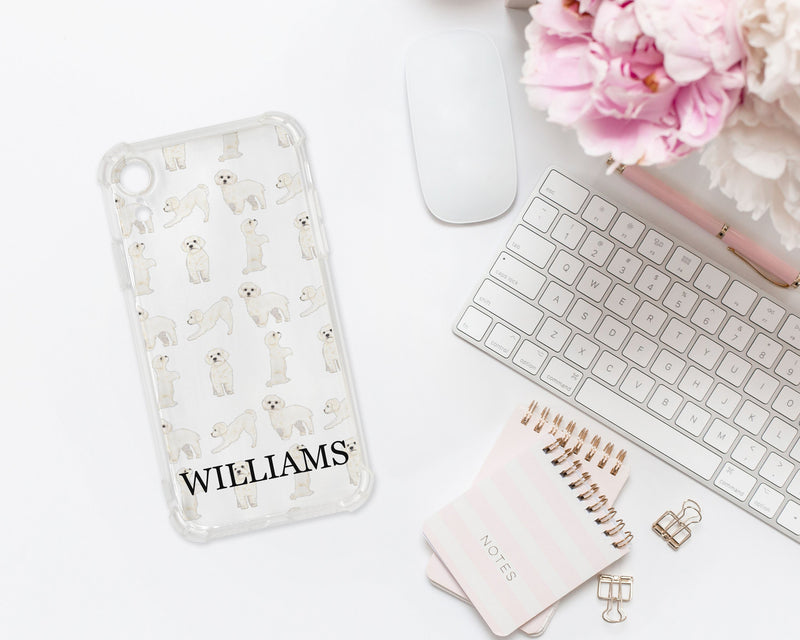 Personalized White Floof Cell Phone Case