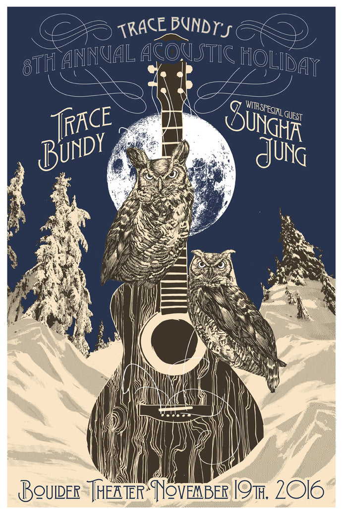 Trace Bundy - Limited Print - 8th Annual Acoustic Holiday