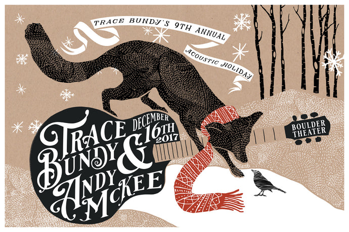 Trace Bundy - Limited Print - 9th Annual Acoustic Holiday