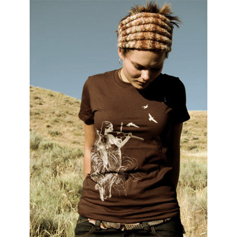 Trace Bundy - Angel Violin Shirt - Women's