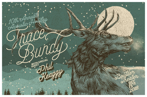 Trace Bundy - Limited Print - 10th Annual Acoustic Holiday