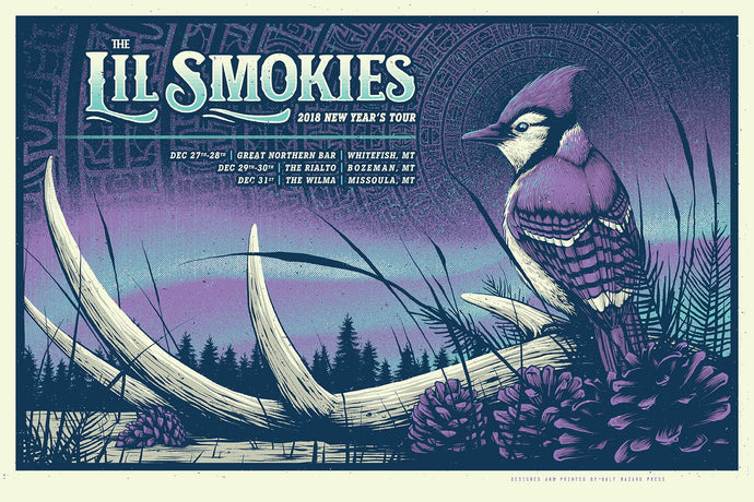 The Lil Smokies - 2018 New Year's Tour Poster