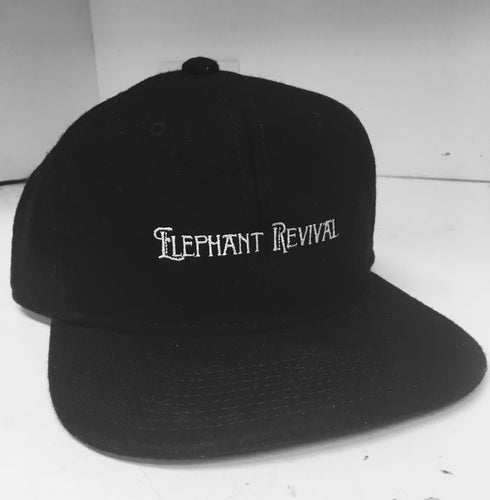 Elephant Revival - Wool Blend Baseball Hat