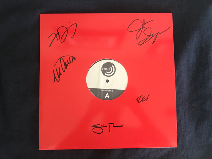 The Lil Smokies - Tornillo - Signed Vinyl Test Pressing