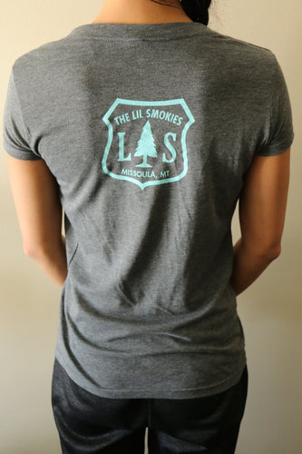 The Lil Smokies - Forest Badge T-Shirt (Womens)