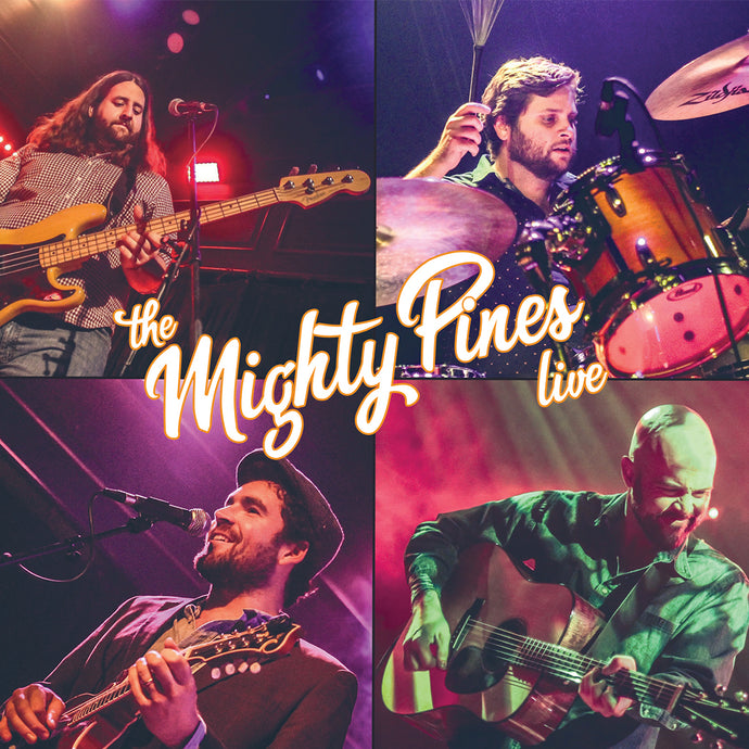 The Mighty Pines - The Mighty Pines Live CD (2018)