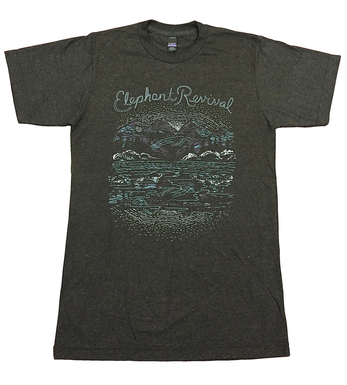 Elephant Revival - Mountain Scene Tee Unisex