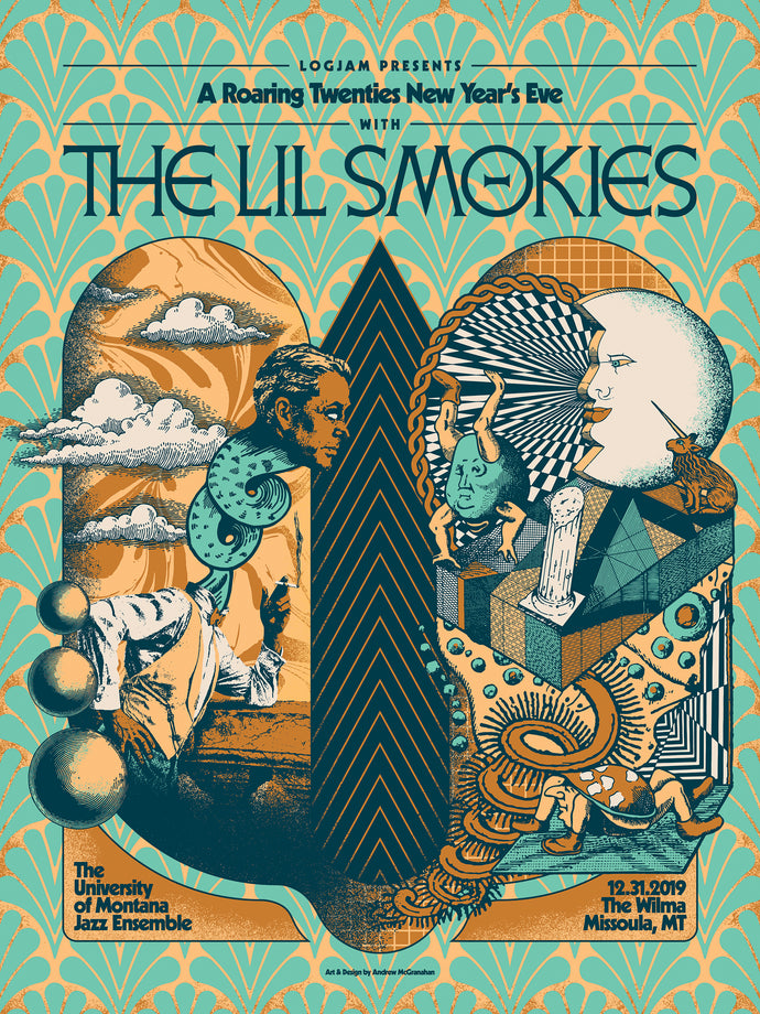 The Lil Smokies - 2019 New Year's Eve Tour Poster