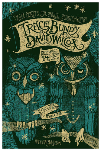 Trace Bundy - Limited Print - 5th Annual Acoustic Holiday
