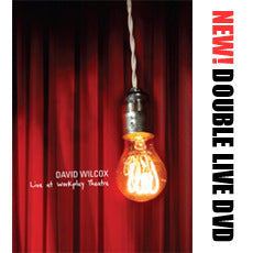 David Wilcox - Live At Workplay double DVD