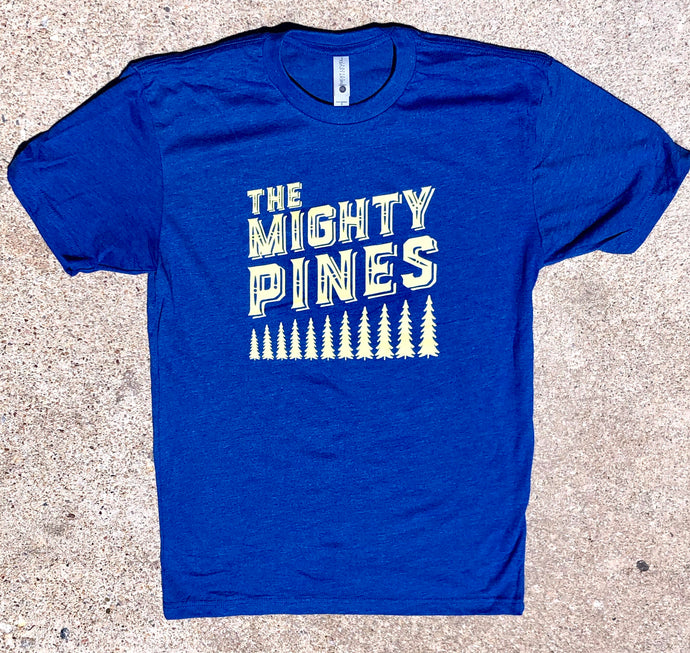 The Mighty Pines - Unisex Growing Tree Tee
