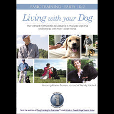 Living With Your Dog 2 DVD set by Jack and Wendy Volhard