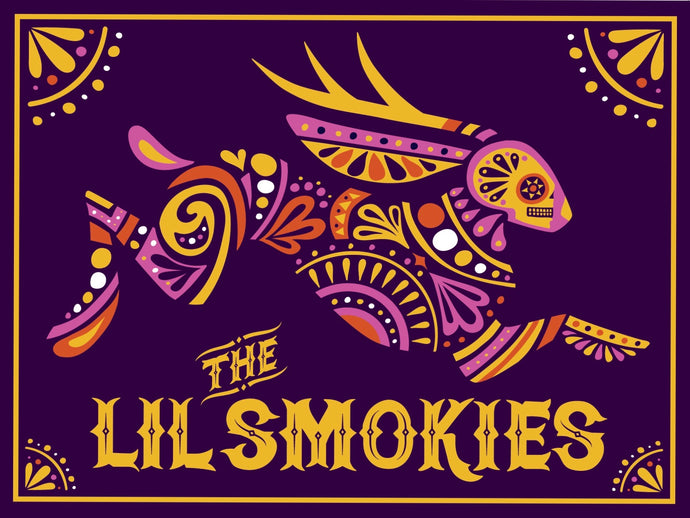 The Lil Smokies - Jackalope Poster
