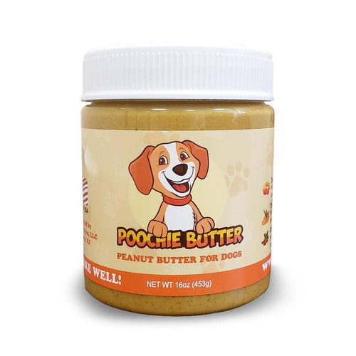 Poochie Butter - All Natural Dog Peanut Butter