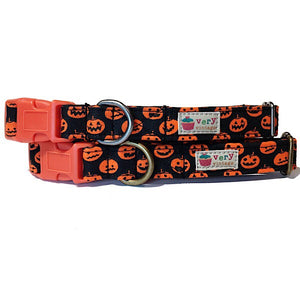 Very Vintage Designs - Jack o'Lantern - Organic Cotton Collar