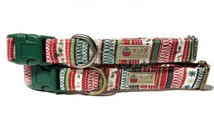 Very Vintage Designs - Ribbon Candy Pet Collar