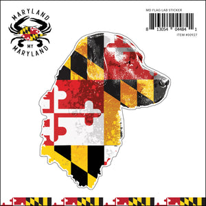 Maryland My Maryland - Lab Sticker