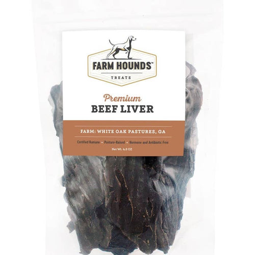 Farm Hounds - 4.5oz Beef Liver