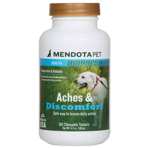 Mendota Pet - 6.3oz Aches and Discomfort - Chewable Tablets