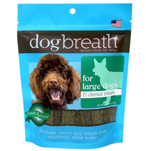 Dog Breath - Dental Chews for Large Dogs