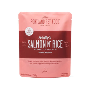 Portland Pet Food - 9oz Salmon and Rice Meal