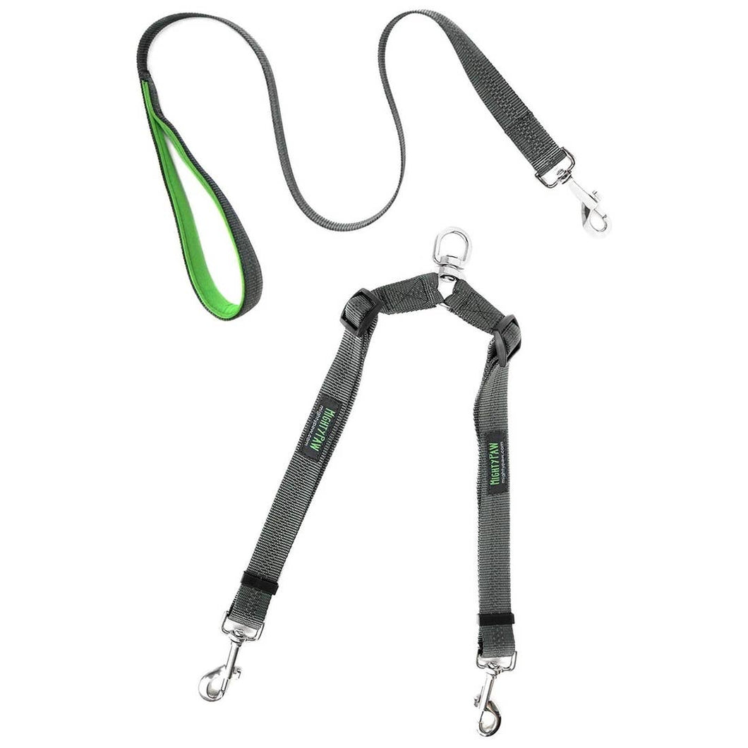 Mighty Paw - Double Dog Leash