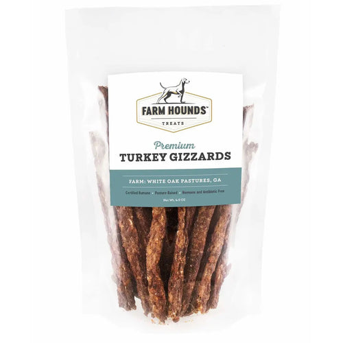 Farm Hounds - 4.5oz Turkey Gizzard Sticks
