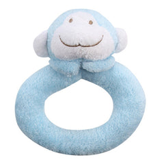 Blue Monkey Rattle