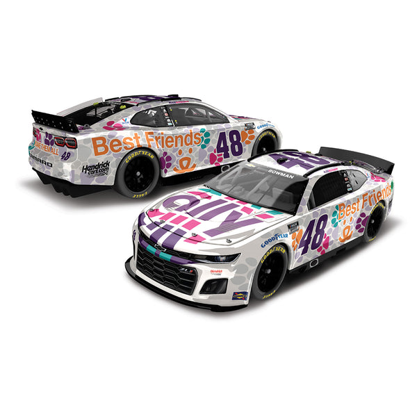 Alex Bowman 1:24 Standard 2021 Ally Best Friends #48 NASCAR Diecast Car